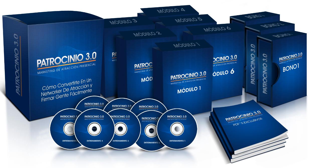 Patrocinio 3.0 - Marketing de Atracción Presencial para tu Negocio Multinivel